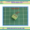 1x SCREW TERMINAL BLOCK 3 PINS Pitch 3.5 mm 300V/10A GREEN COLOR