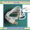 1x Micro USB Cable 100 cm Length for Leonardo NodeMCU (White Color)