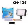Continuous Lighting CN - 126 LED video light