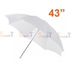 Umbrella ร่มทะลุ White Photo Studio Diffuser 110cm (43Inch)