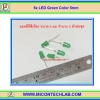5x LED Green Color 5mm (แอลอีดีสีเขียว 5มม 5 ตัวต่อชุด)
