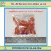 50x LED Red Color 5mm (แอลอีดีสีแดง 5มม 50 ตัวต่อชุด)