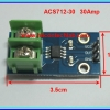 1x ACS712-30 Current sensor ACS712 30 Amp Screw Terminal module