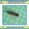 1x LM324N Quadruple Operational Amplifiers (Op-amp) IC Chip