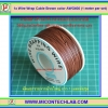 1x Wire Wrap Cable Brown color AWG#30 (1 meter per set)