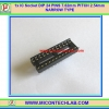 1x IC Socket DIP 24 PINS 7.62mm PITCH 2.54mm NARROW TYPE