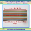 1x Ribbon Flat Cable 28AWG 40 Ways 1 Foot Rainbow (สายแพสีรุ้ง ขนาด 40 เส้นยาว 1 ฟุต)