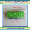 100x Resistor 2 KOhm 1/4 Watt 1% Metal film Resistor (100pcs per lot)