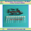 10x Housing 1 Pin Connector + 10x Male Crimp Terminal 2.54mm