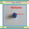 1x Trimpot 100 KOhm 1 Turn Potentiometer Variable Resistor 3362 Series