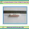 1x Cement Resistor 0.1 Ohm 10 Watt 5% Royal ohm