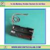 1x AA Battery Holder Socket 2x AA Size (กะบะถ่าน AA ขนาด 2 ก้อน)