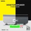 ราคาพิเศษ!! Remax ลำโพง Bluetooth Desktop Speaker Powerbank H1 เสียง stereo 2 channel ไร้สาย พกพาง่าย รับสายโทรออกได้ เบสทรงพลัง