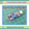1x Sound detection Sensor module