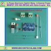 1x Power Electronic Switch Relay 1-Channel Kits Power MOSFET (55V 49A IRFZ44) with Opto-Coupler