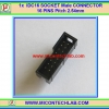 1x Male IDC16 SOCKET CONNECTOR 16 (2x8) PINS Pitch 2.54mm