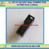 1x Male IDC16 SOCKET CONNECTOR 16 (2x8) PINS Pitch 2.54mm