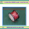 1x Cable Wire AWG#26 Length 1 meter Red color