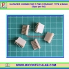 5x WAFER CONNECTOR 7 PINS STRAIGHT TYPE 2.54mm (5pcs per lot)