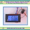 1x Digital LCD AC Voltmeter Ammeter 80-300V 0- 100 Amp Panel Module (Black Color)