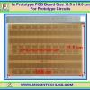 1x Prototype PCB 902 Board Size 11.5 x 16.6 cm (Breadboard Format)