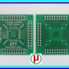 PCB TQFP80 Pitch 0.5mm
