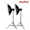 Godox 160W x 2set studio flash suit
