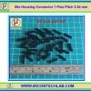 50x Housing Connector 1 Pins Pitch 2.54 mm (คอนเน็คเตอร์แบบ 1 ขา)