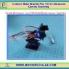1x Servo Motor Bracket Pan Tilt for Ultrasonic Camera Scanning