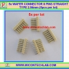 5x WAFER CONNECTOR 8 PINS STRAIGHT TYPE 2.54mm (5pcs per lot)