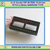 "1x IC Socket DIP 28 PINS 15.24mm/0.6"" PITCH 2.54mm NARROW TYPE"