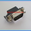 1x Male D-Sub RS232 Connector Right Angle 9 Pins