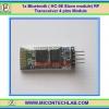 1x Bluetooth ( HC-06 Slave module) RF Transceiver 4 pins Module