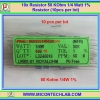 10x Resistor 50 KOhm 1/4 Watt 1% Resistor (10pcs per lot)