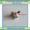 1x Volume VR Potentiometer 10 KOhm Resistor Horizontal Type