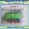 1x Resistor 200 KOhm 1 Watt 1% Resistor ( 1 pcs per lot)