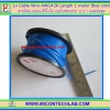 1x Cable Wire AWG#26 Length 1 meter Blue color