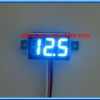 1x Mini Digital DC Voltmeter module 0-100 Vdc Blue LED 7's Segment