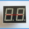 1x LED 7 SEGMENT 2 DIGIT RED Color Common Cathode 0.56 INCH