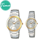 นาฬิกาคู่ นาฬิกาคู่รัก ราคาถูก นาฬิกาเซตคู่ ยี่ห้อ CASIO Gent & LADIES' CLASSIC