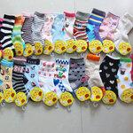 (พร้อมส่ง) ถุงเท้ากันลื่น แบบยาว Baby Fancy Sock (แพ็คละ 3 คู่)