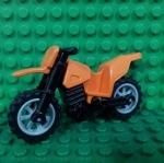 Orange Motorcycle Dirt Bike