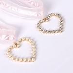เลือกลายด้านในค่ะ โชคเกอร์ Jewel Heart Korea CK2201