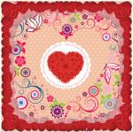ผ้าพันคอลาย Rose Of Love