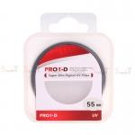 JYC Pro 1 D Super Slim UV fiter 55mm