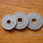 เหรียญ ๑๐ สตางค์เก่า ปีพ.ศ.๒๔๖๑