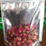 ชาดอกกุหลาบพันปี Rose Tea ขนาด 100 กรัม มีวิตามินซีสูง จึงช่วยในเรื่องการขับถ่าย และชะล้างสารพิษในร่างกาย