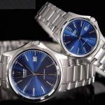 นาฬิกาคู่ นาฬิกาคู่รัก นาฬิกา CASIO นาฬิกาคู่ เรือนเงิน รุ่น MTP-1183A-2A กับ LTP-1183A-2A ประกันศูนย์ 1 ปีเต็ม