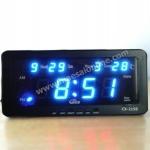 นาฬิกาดิจิตอล รุ่น CX-2158 สีฟ้า