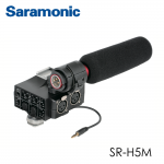 Saramonic MixMic - Shotgun Microphone with Integrated 2-Channel XLR Audio Adapter for DSLR Cameras & Camcorders
